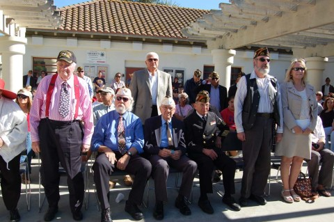 Veterans stand tall for all service members