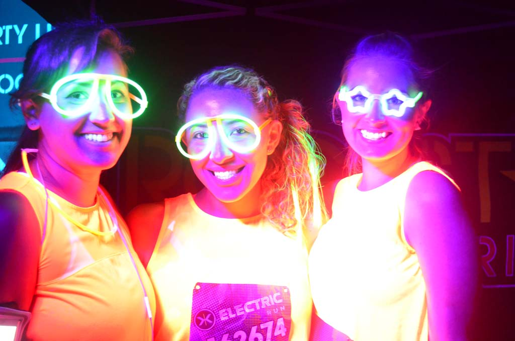Runners become electric