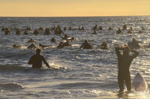 Paddle out for Kirk