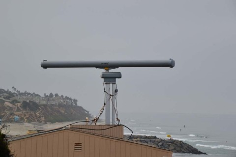 Surveillance radar on Ponto Beach remains operational