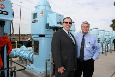 Pump station allows for more treated groundwater