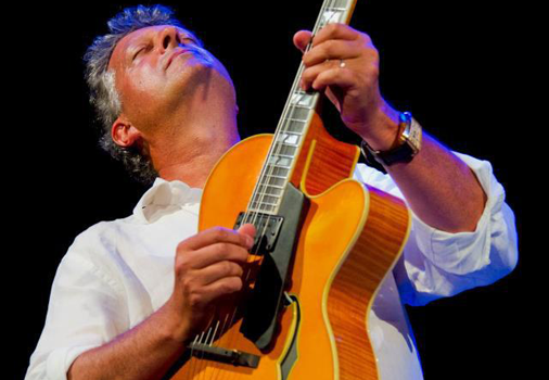 Jazz guitarist Paul Brown headlines at Tuscany in Carlsbad Nov. 17 at 2 p.m. Courtesy photo
