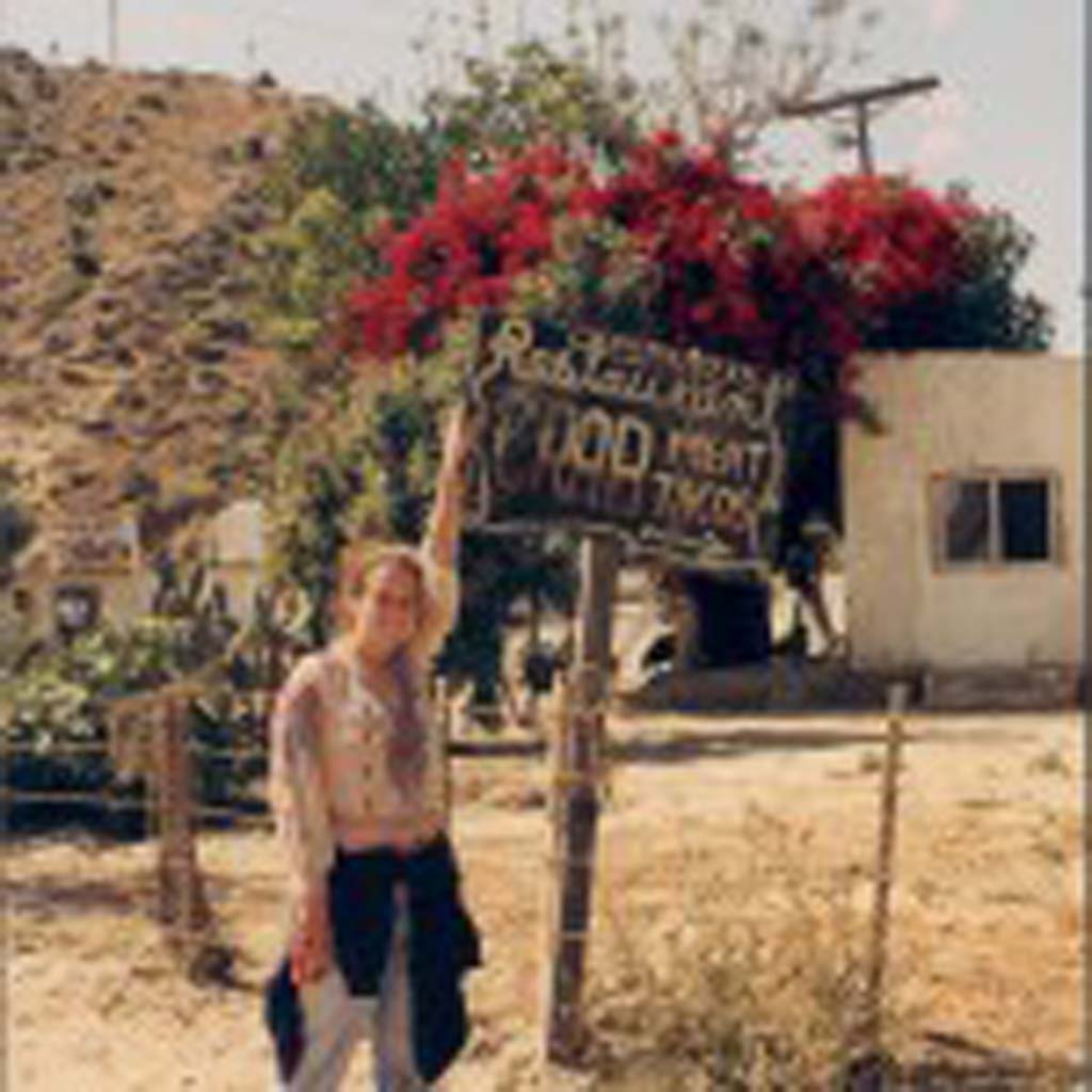 Alumna Rian Alworth (Class of 1993) on her 1992 expedition trips to Bahia de Los Angeles.