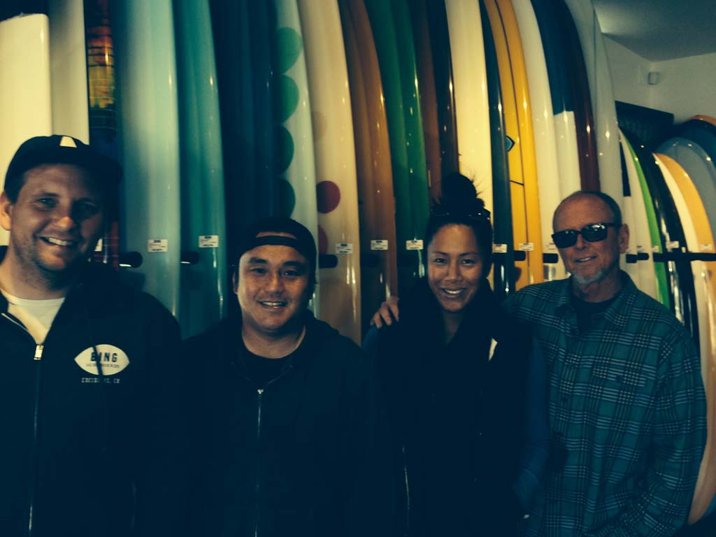 Where Bing Surfboards eats around town