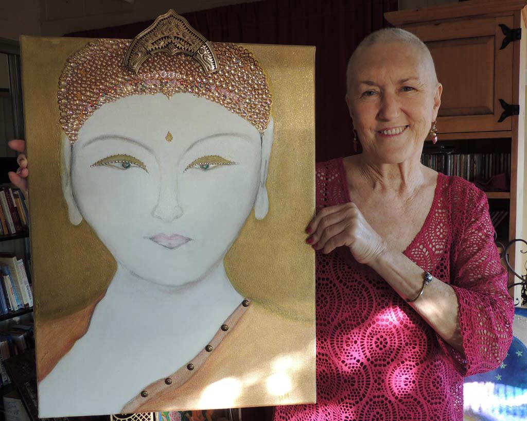 Artist, former nun seeks funds for life-saving transplant