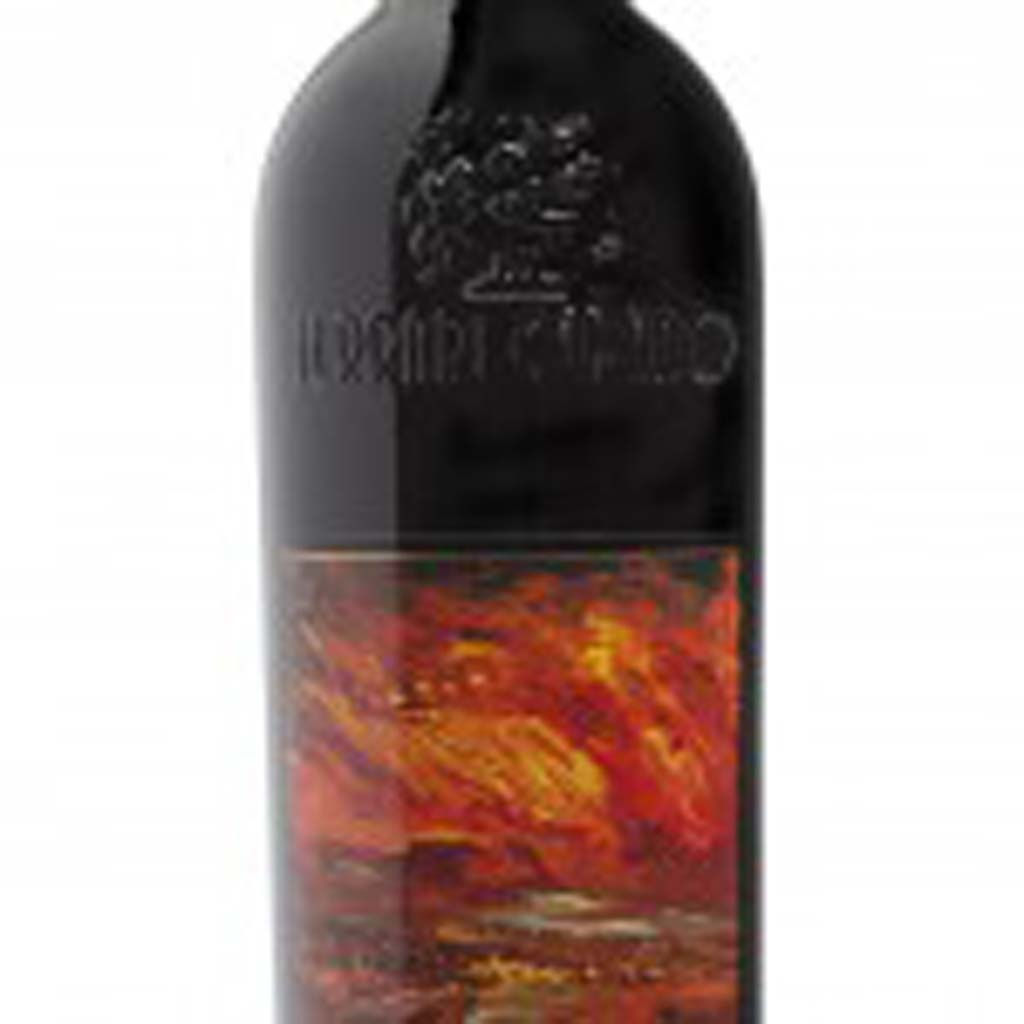 The 2010 Ferrari-CaranoTresor, a Bordeaux-style blend from Sonoma. Photo courtesy of Ferrari-Carano