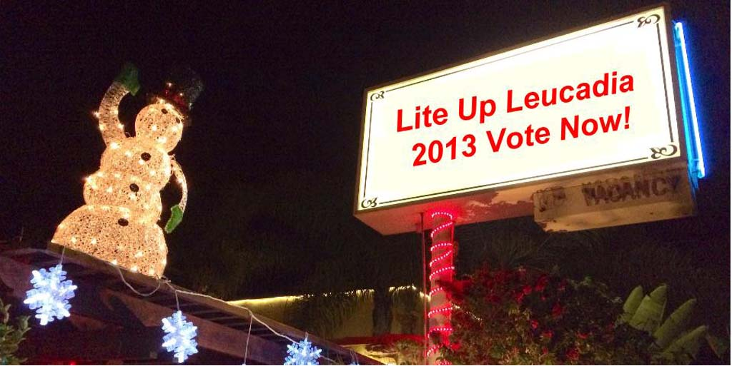 Leucadia lights up for holidays