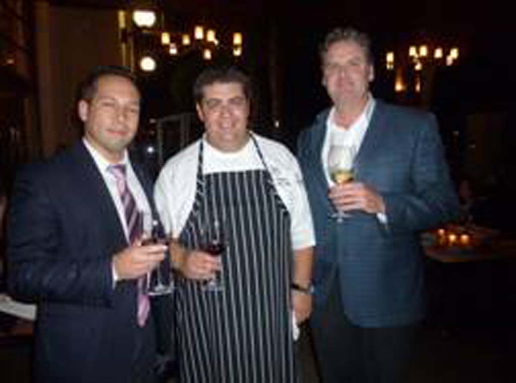 Twenty/20 at the Sheraton Carlsbad hosted a Chilean wine dinner recently.  Organizers included: Food & Beverage Director Chris McNally, Sous Chef Andres Honojosa and Concho Y Toro rep Art Pinn.