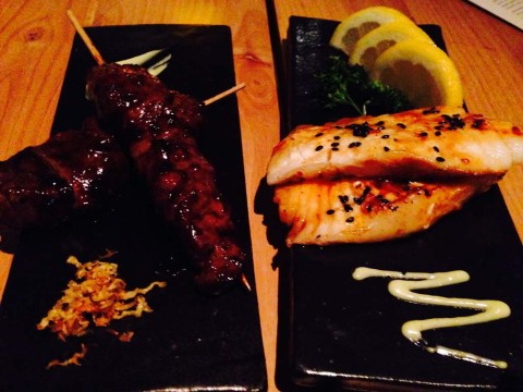 Something for everyone at the fabulous Blue Ocean Robata & Sushi Bar