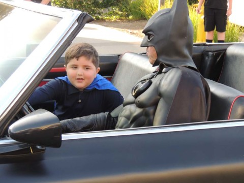 Batman and Spinal Elements deliver Make-a-Wish