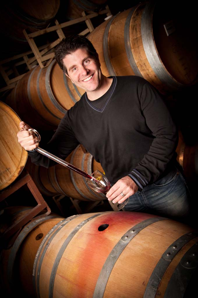 Tim Bacino, owner-winemaker of Gen 7 Wines of Rancho Santa Fe. Courtesy photo