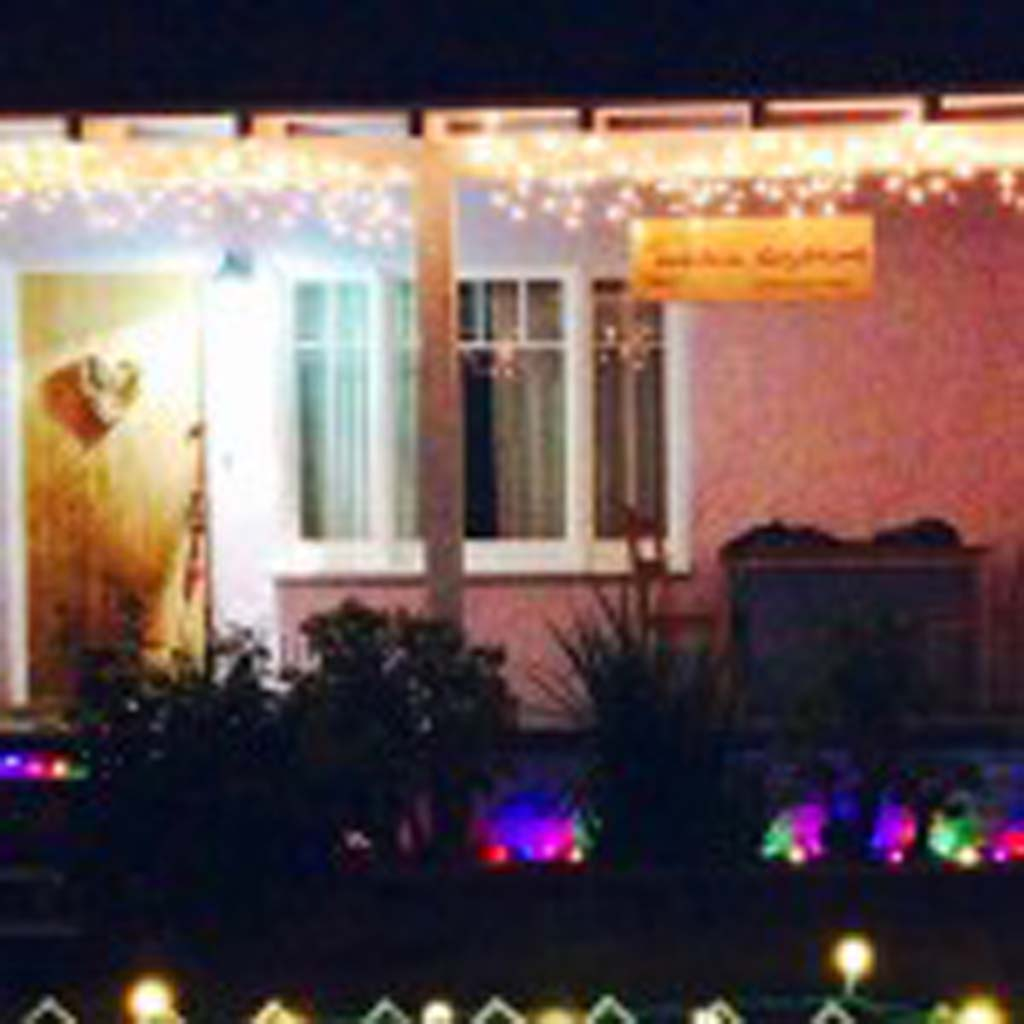 "Mandala Day Dreams was chosen by online voters for a third-place prize in Leucadia 101 Main Street's 2013 ""Lite Up Leucadia"" holiday lights contest. Courtesy photo"