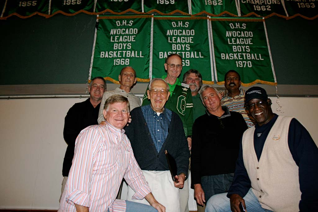 Past basketball champions gather to honor Oceanside High coach Bill Wagner