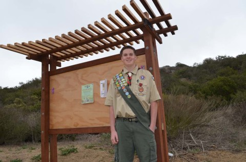 Eagle project earns scout recognition