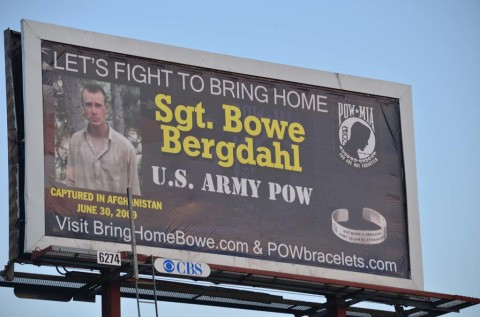 Billboard seeks to raise awareness on American POW