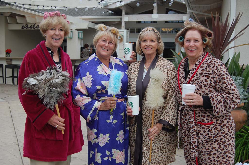 'Real Housewives' invade Morgan Run for day of fun