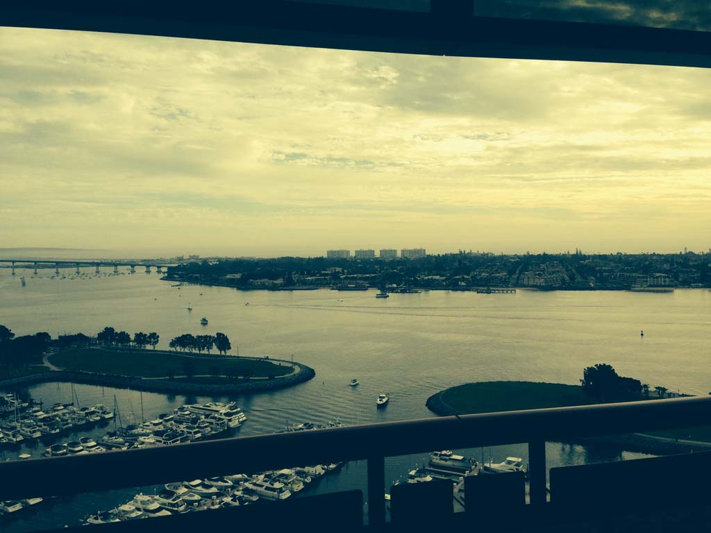 Staying at the Marriot Marquis and Marina offers some spectacular views. Photo by David Boylan