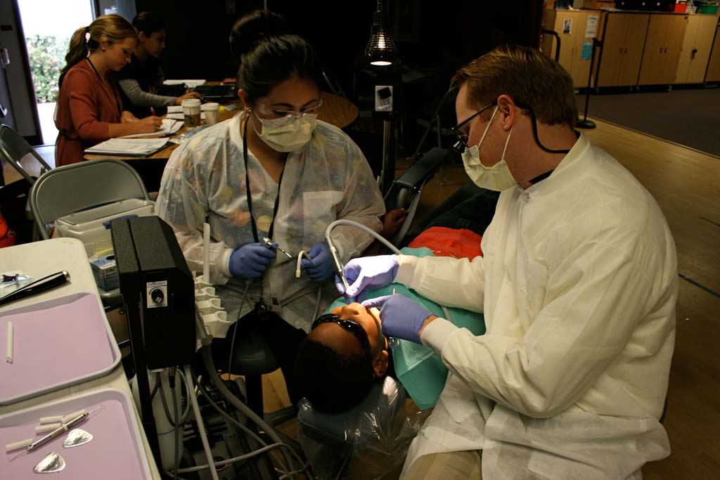 Dental services brought into schools