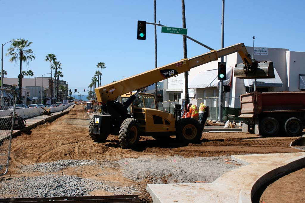 Mission Avenue road improvements halfway done