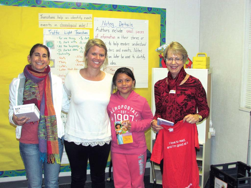 Assistance League celebrates readers
