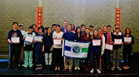 Grauer School hosts Chinese students