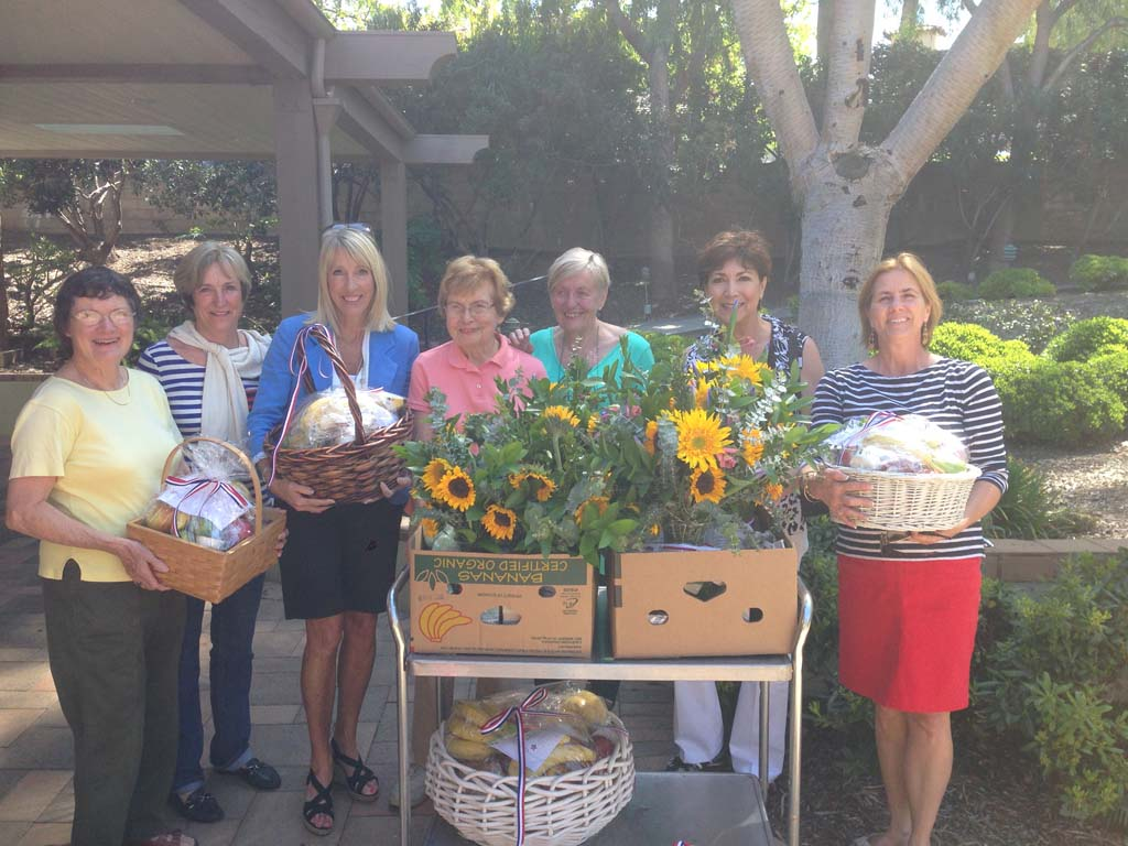 RSF Garden Club brings smiles to Camp Pendleton