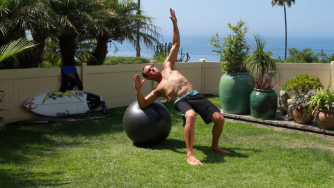 Surfer, trainer team up for series of fitness DVDs