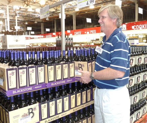 Miles of aisles on the Superhighway of Wine
