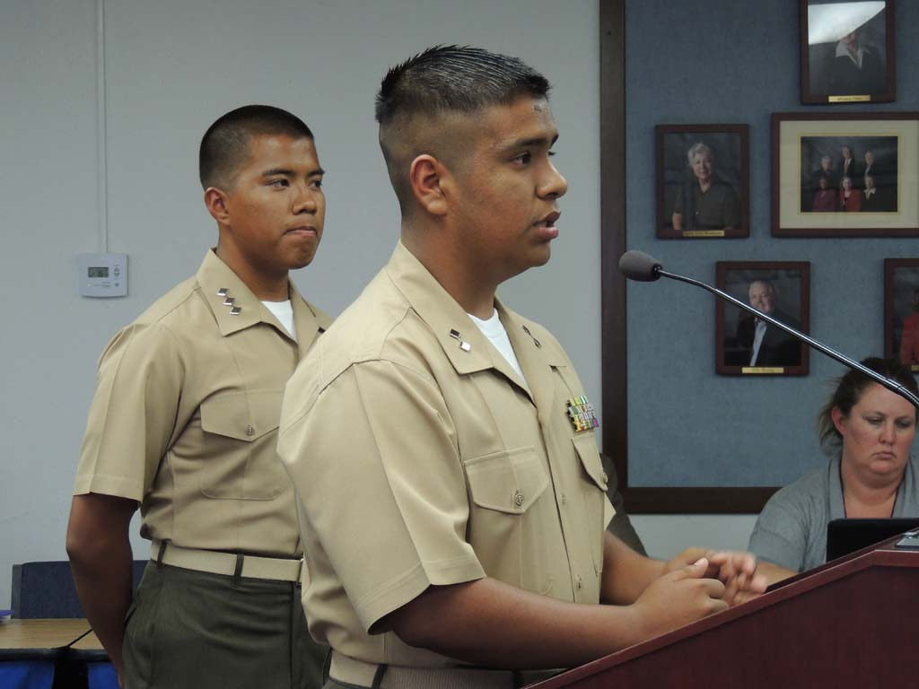 JROTC program instills leadership in Oceanside students
