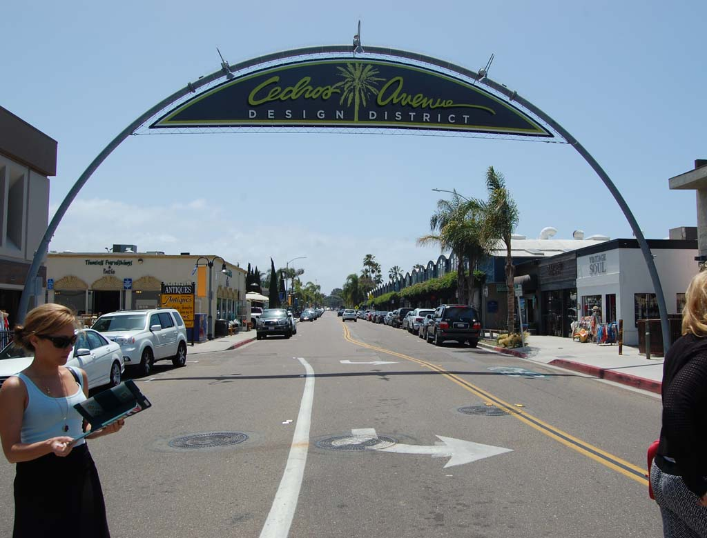 Cedros district offers shopping, dining, historical insight
