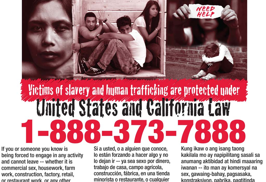 Heightened focus, outreach efforts placed on human trafficking