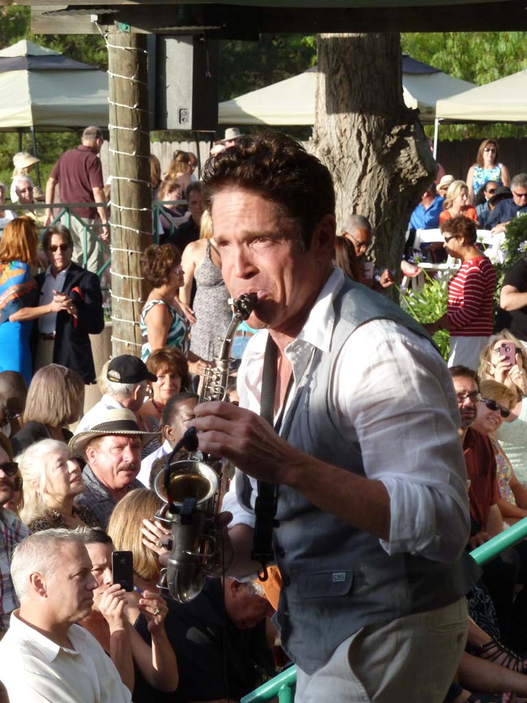 Dave Koz is the longest running Jazz artist to appear at Thornton Winery's Champagne Jazz Series in Temecula. Photos by Frank Mangio