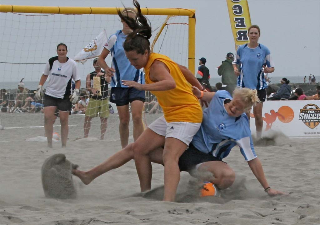 Beach soccer fest expects to kick up large crowd