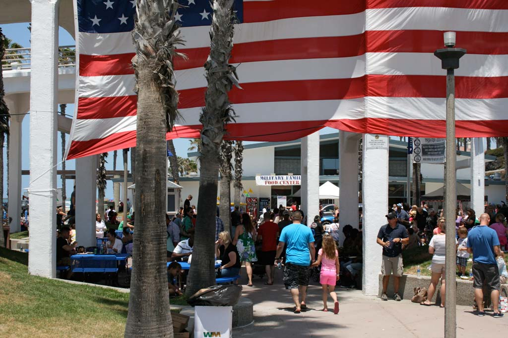 About 10,000 people are expected to attend the festival. Food and carnival rides are free to active duty military and their families. Photo by Promise Yee