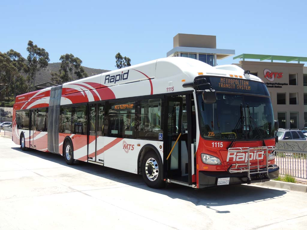 Rapid buses launched along I-15