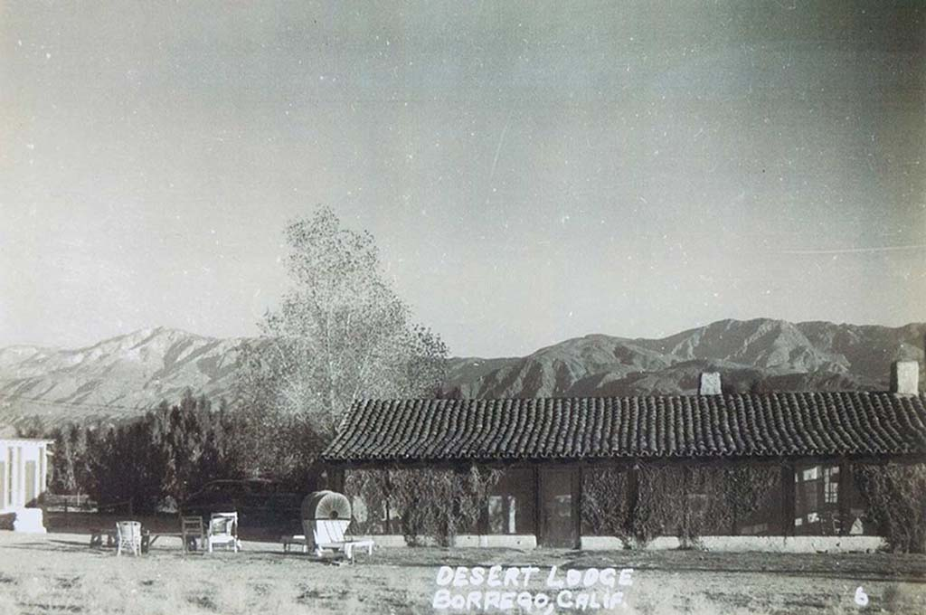 La Casa Del Zorro had its origins in a two-room adobe called Desert Lodge. It eventually expanded and became a favorite destination for the rich and famous who wanted to escape the glitz and noise of Los Angeles and the movie industry. This photo was taken in the 1930s. (Courtesy photo)