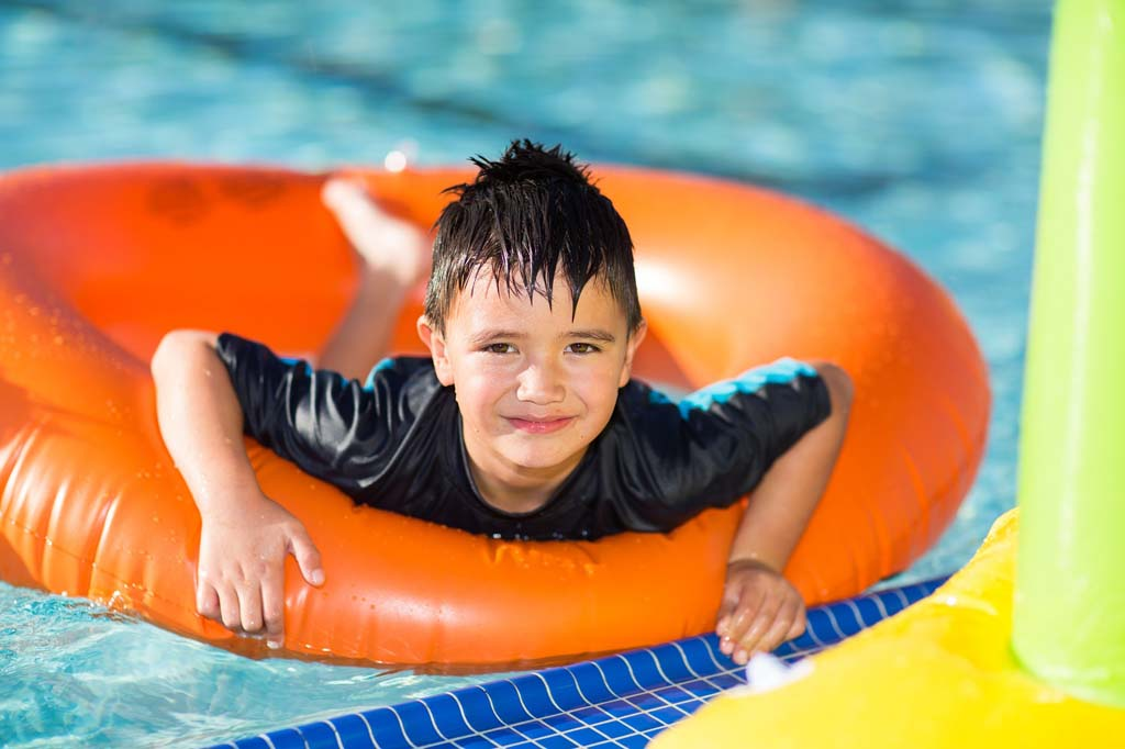 Summer series at new aquatic center