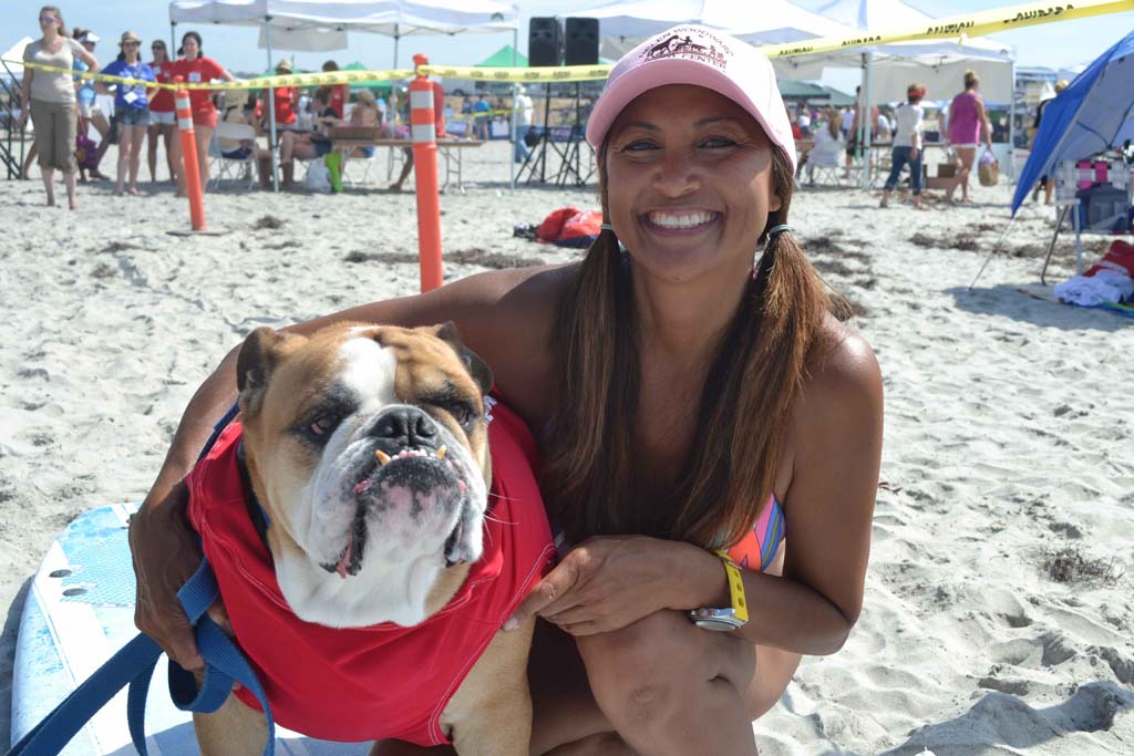 Pups hit the shore during summer surf classes