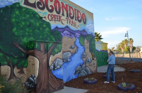 Escondido's pocket park brings new look to area