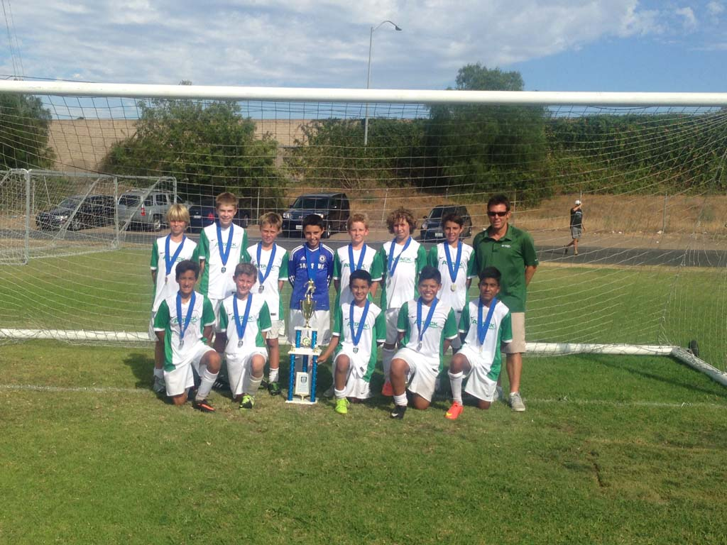 Rancho Santa Fe Attack Boys U13 Premier Wins Anaheim Surf Invitational Tournament