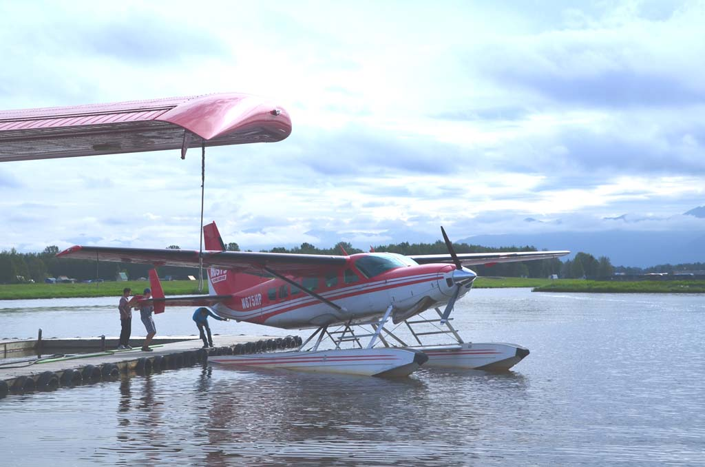 Lake Hood, a small body of water next to the Ted Stevens Anchorage International Airport, is the busiest seaplane airport in the world. For many Alaskans, a single-engine plane is as common as a family car because so much of Alaska is accessible only by plane.