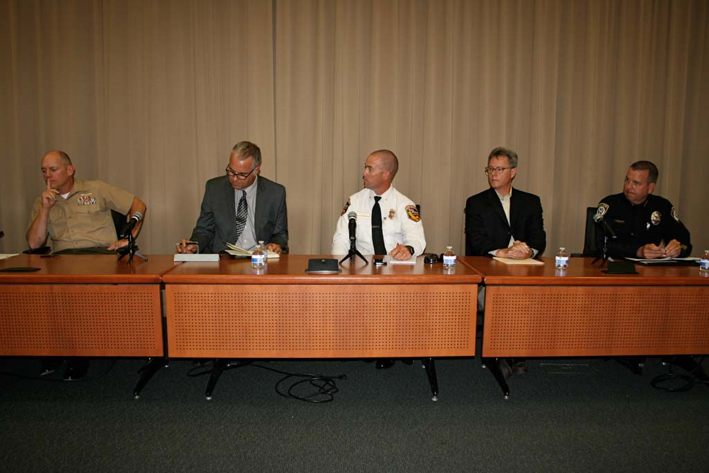 Panel discussion looks at lessons learned during wildfires
