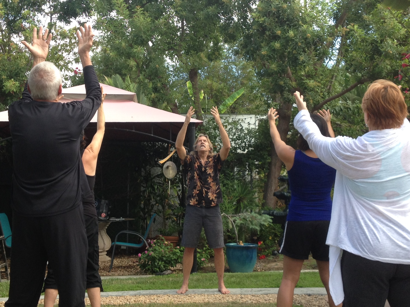 Qigong helps harness balance