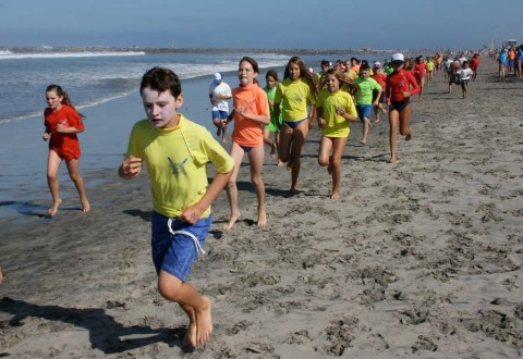 Annual Junior Lifeguard competition hits Oceanside Harbor Beach