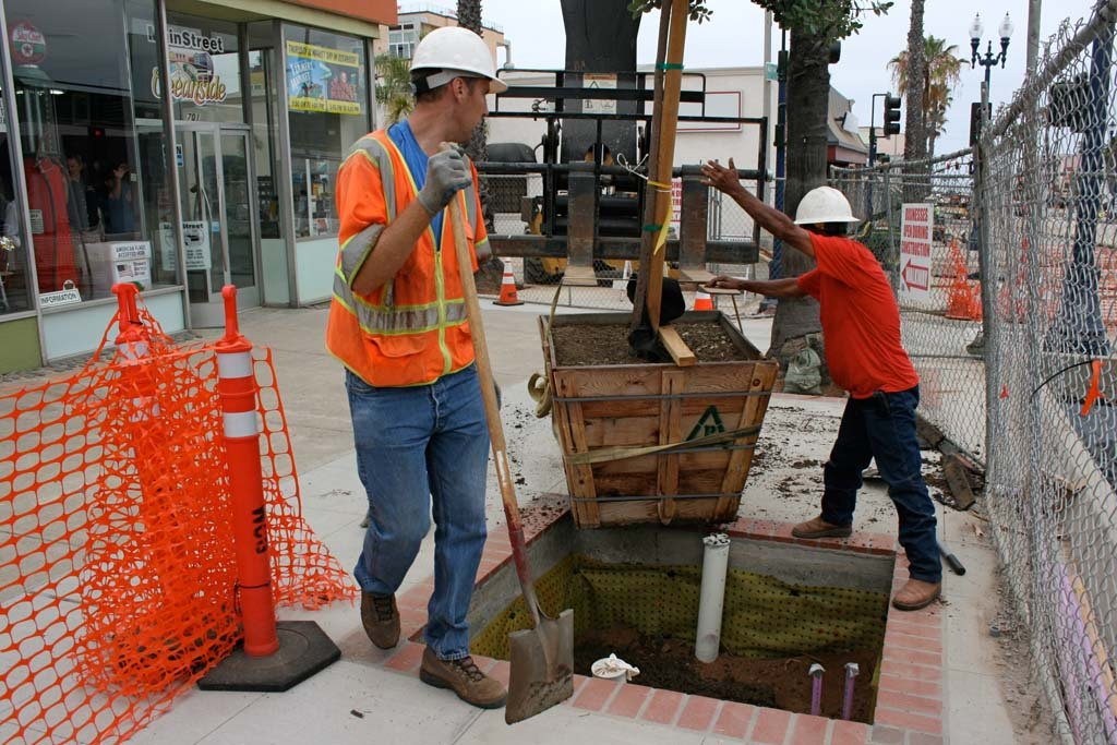 Mission Avenue moving into final phases of roadwork