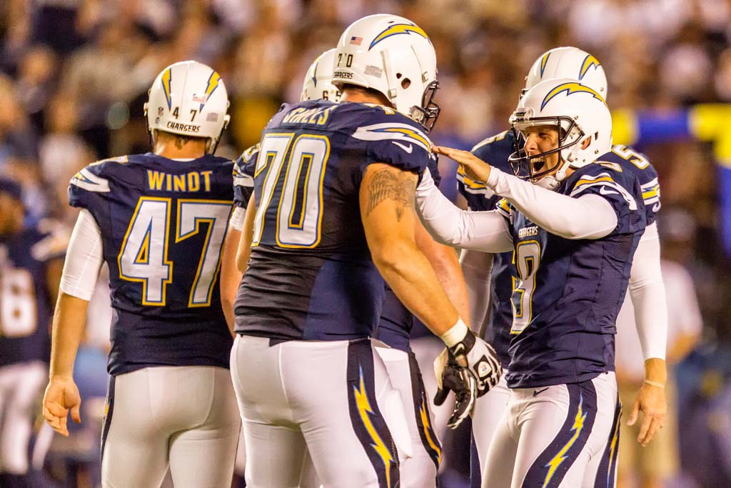 Chargers make cuts to find final 53
