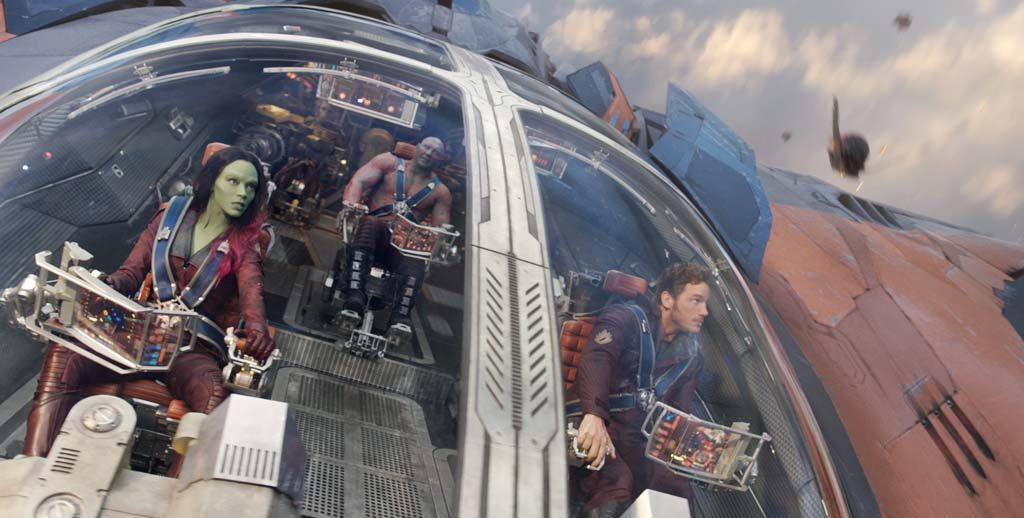 Film Review: Superhero space tale helps end summer film season on high note