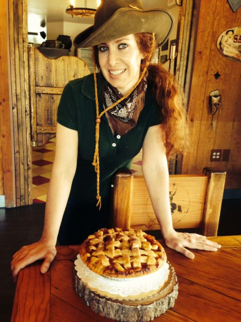 Giddy on up over to Betty's Pie Whole Saloon