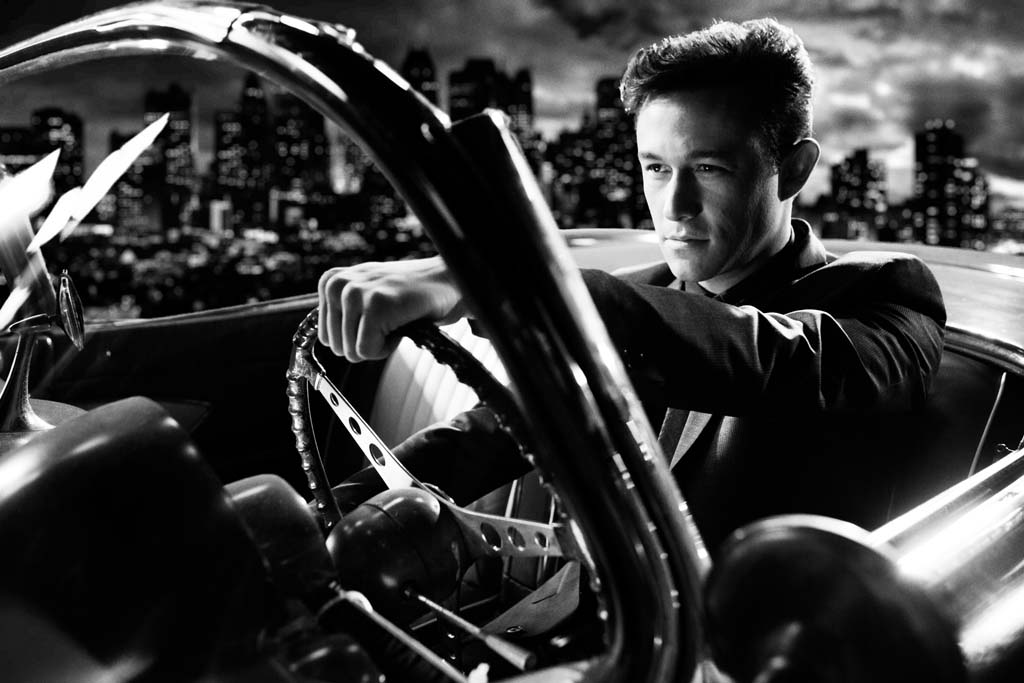 """Johnny (Joseph Gordon-Levitt) is a gamble trying his luck in """"Sin City: A Dame to Die For."""" Photo courtesy Weinstein Co./Dimension Films"""