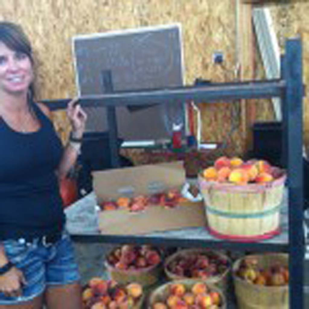 Staci Clark, her husband and children are the fifth and sixth generations to farm Clark Family Orchards, which has been in the family for more than 100 years. Their 100 acres grow the famous Palisade peaches as well as cherries, apricots, pears and plums. They ship their produce nationwide.